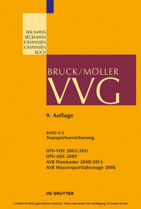Vvg Bd 6 2 130 141 Transportversicherung Produkt