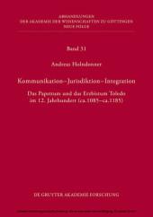 Kommunikation - Jurisdiktion - Integration