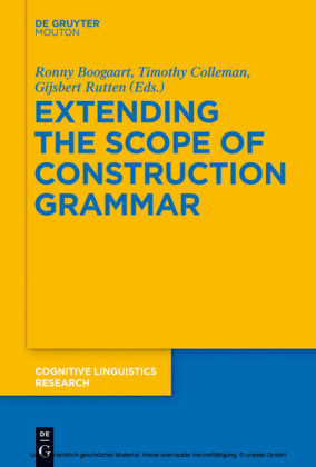 Extending the Scope of Construction Grammar