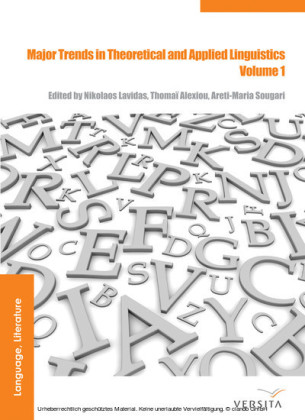 Major Trends in Theoretical and Applied Linguistics 1