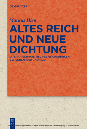 Altes Reich und Neue Dichtung
