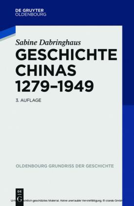 Geschichte Chinas 1279-1949