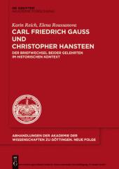 Carl Friedrich Gauß und Christopher Hansteen