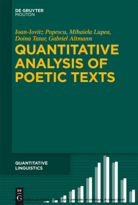 Quantitative Analysis of Poetic Texts