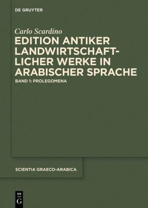 Edition antiker landwirtschaftlicher Werke in arabischer Sprache