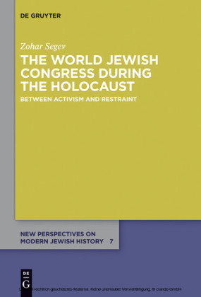 The World Jewish Congress during the Holocaust