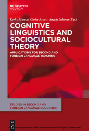 Cognitive Linguistics and Sociocultural Theory