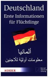Deutschland - Erste Informationen für Flüchtlinge, Deutsch-Arabisch