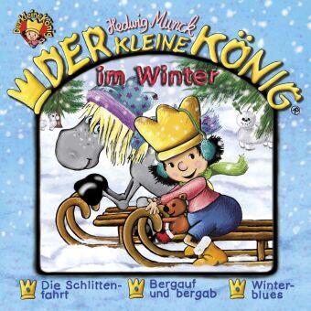Der kleine König - Der kleine König im Winter, 1 Audio-CD