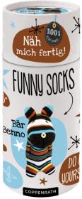 Näh mich fertig! Funny Socks - Bär Benno Cover