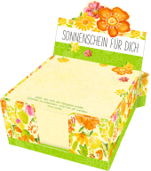 Zettelkästchen - Sonnenschein für dich Cover
