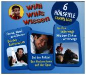 Willi wills wissen - Sammelbox, 3 Audio-CDs Cover