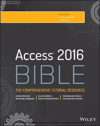Access 2016 Bible,