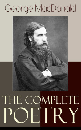 The Complete Poetry of George MacDonald