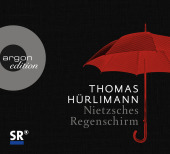 Nietzsches Regenschirm, 1 Audio-CD Cover