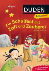 Ein Schulfest mit Zoff und Zauberei Cover