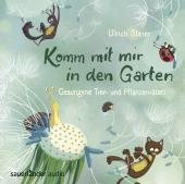Komm mit mir in den Garten, 1 Audio-CD Cover
