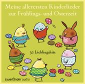 Meine allerersten Kinderlieder zur Frühlings- und Osterzeit, 1 Audio-CD Cover