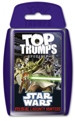 Top Trumps, Star Wars Rise of the Bounty Hunters (Spiel)