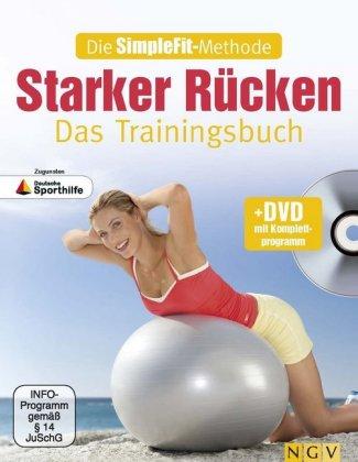 Die SimpleFit-Methode - Starker Rücken - Das Trainingsbuch, m. 1 DVD