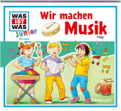 Wir machen Musik, Audio-CD Cover