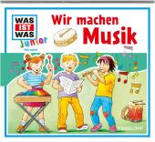 Wir machen Musik, 1 Audio-CD Cover