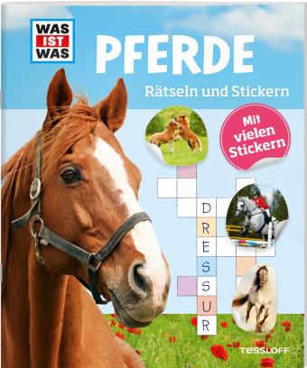 Pferde, Rätseln und Stickern