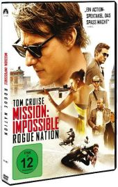 Mission: Impossible 5 - Rogue Nation, 1 DVD Cover