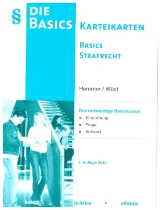 Basics Strafrecht, Lernkarten