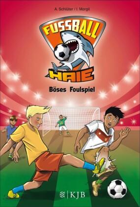 Fußball-Haie: Böses Foulspiel