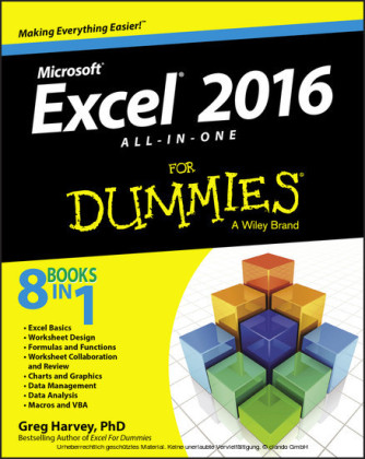 Excel 2016 All-in-One For Dummies,