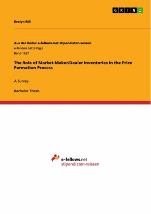 The Role of Market-Maker/Dealer Inventories in the Price Formation Process