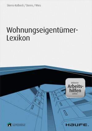 Wohnungseigentümer-Lexikon - inklusive Arbeitshilfen online