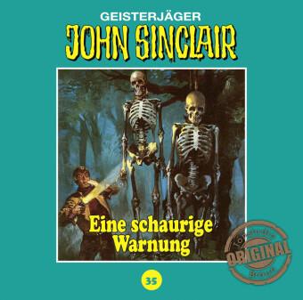 Geisterjäger John Sinclair, Tonstudio Braun - Ein schaurige Warnung, Audio-CD