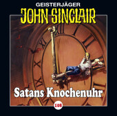 Geisterjäger John Sinclair - Satans Knochenuhr, Audio-CD Cover