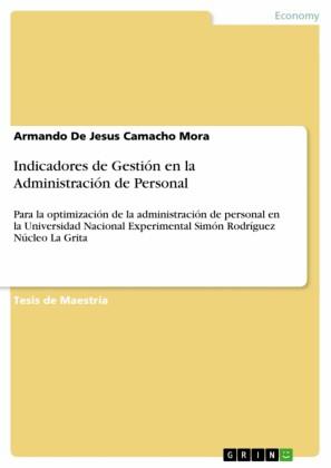 Indicadores de Gestión en la Administración de Personal