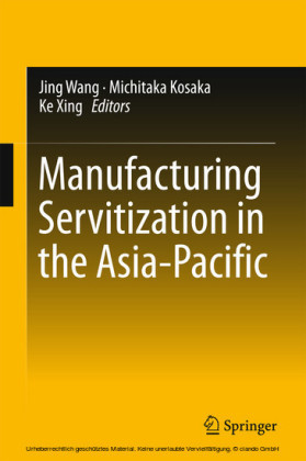 Manufacturing Servitization in the Asia-Pacific