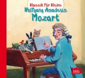Klassik für Kleine - Wolfgang Amadeus Mozart, Audio-CD Cover