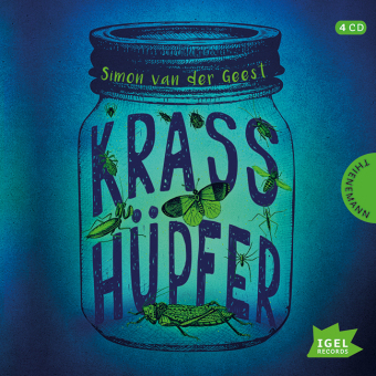 Krasshüpfer, 4 Audio-CDs