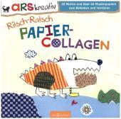 Ritsch-Ratsch Papiercollagen Cover
