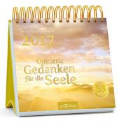 Goldene Gedanken für die Seele, Postkartenkalender 2017