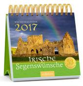 Irische Segenswünsche, Postkartenkalender 2017 Cover