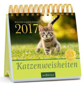 Katzenweisheiten, Postkartenkalender 2017 Cover