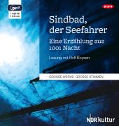 Sindbad, der Seefahrer, 1 MP3-CD Cover