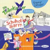 Die Tintenkleckser - Schulhof-Alarm, 1 Audio-CD Cover