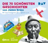 Die 70 schönsten Geschichten von James Krüss, 4 Audio-CDs