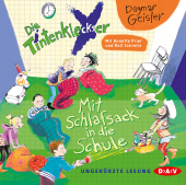 Die Tintenkleckser - Mit Schlafsack in die Schule, 1 Audio-CD Cover