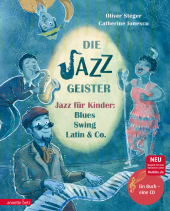 Die Jazzgeister, m. 1 Audio-CD Cover