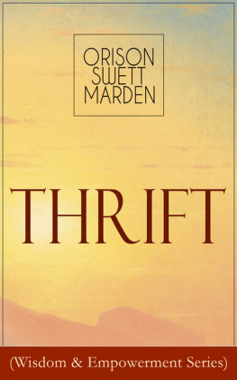 Thrift (Wisdom & Empowerment Series)