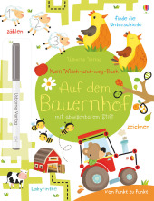 Mein Wisch-und-weg-Buch, Auf dem Bauernhof Cover